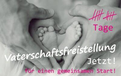 Online-Petition für 10 Tage Vaterschaftsfreistellung