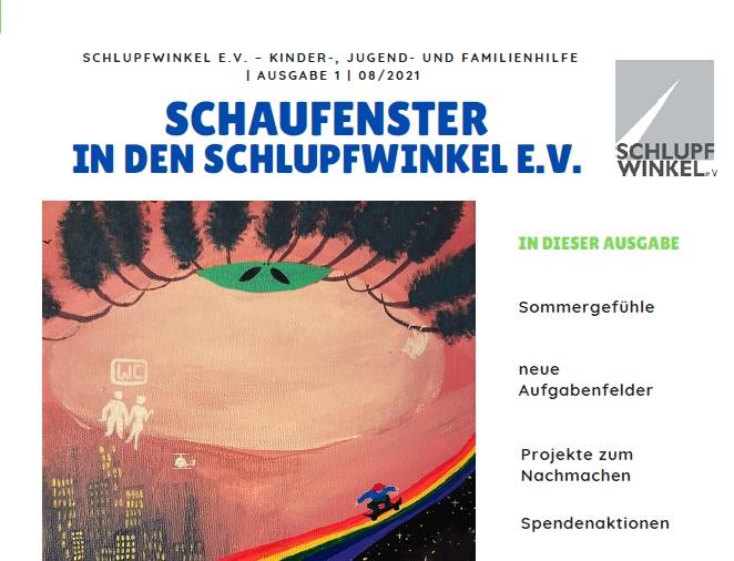 Erste Ausgabe des Schlupfwinkel Newsletter
